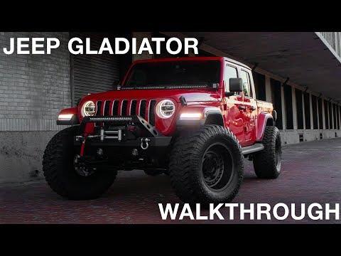 Jeep Gladiator Full Build Walkthrough