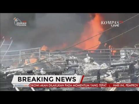 BREAKINGNEWS - Kebakaran Puluhan Kapal di Benoa Bali
