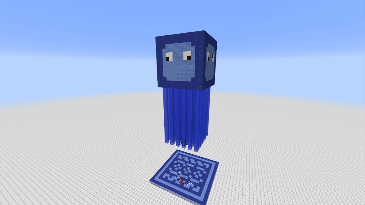 Minecraft Squid Farm The Squid Mother 4400 Items H Docm77 Youtube