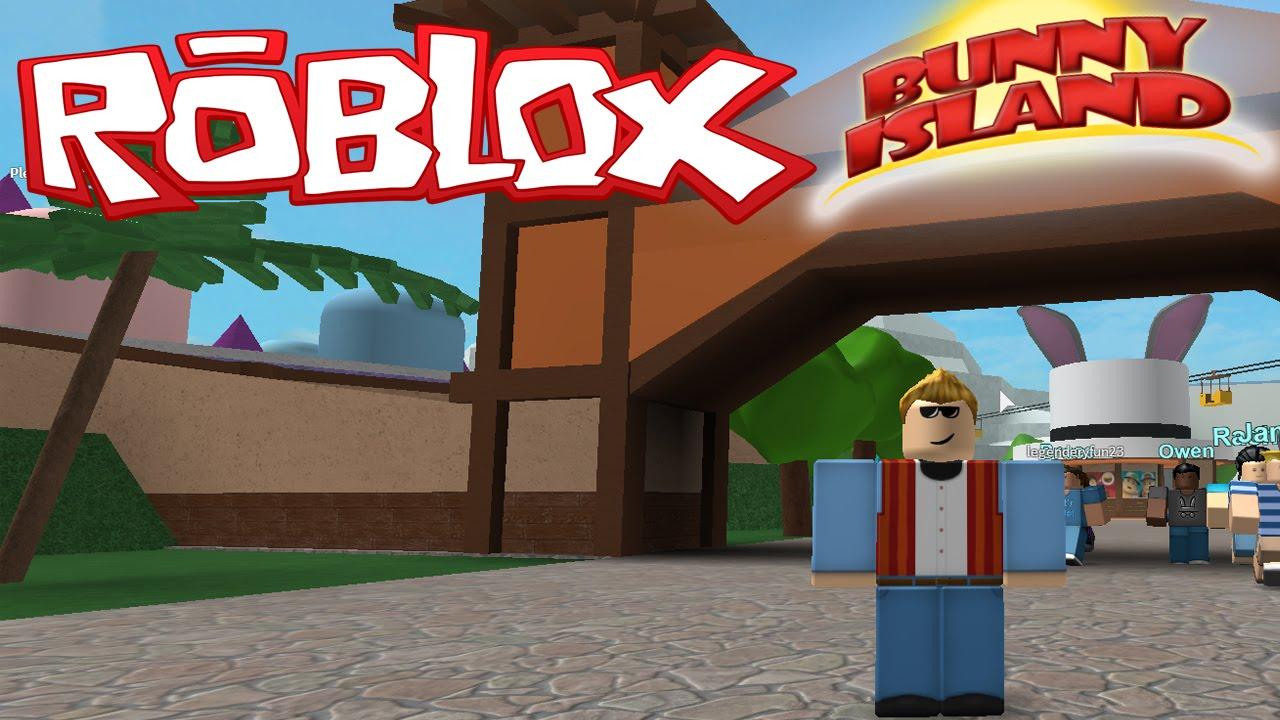 Let S Go To The Themepark Roblox Bunny Island Doovi