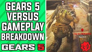 GEARS 5 Multiplayer Gameplay - GEARS 5 Escalation 2.0 Multiplayer Gameplay BREAKDOWN (GOW5 Gameplay)