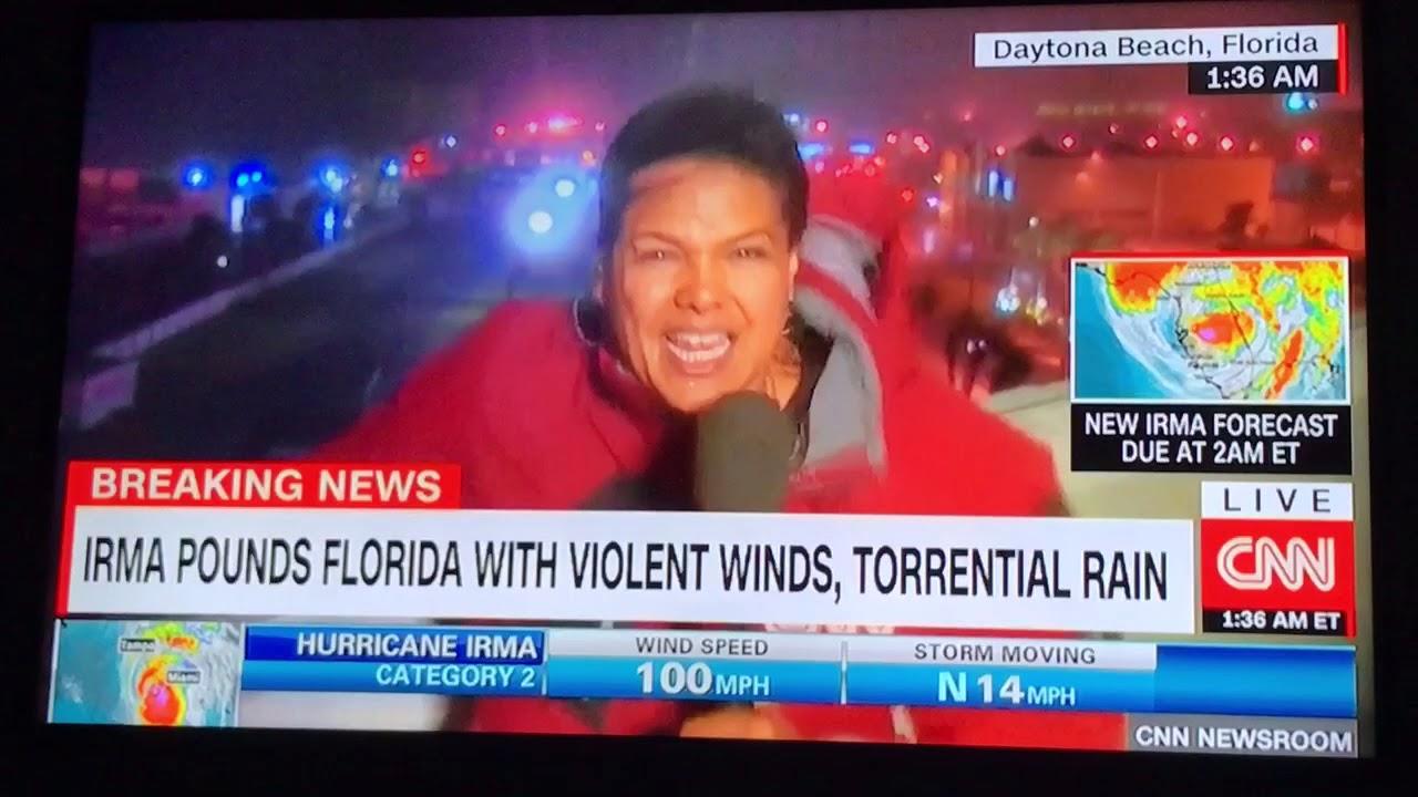 CNN Anchor During Hurricane Irma Part 88