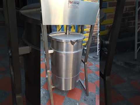Marmita Industrial para jaleas, yogurt, almíbar regulador de velocidad cambio de giro