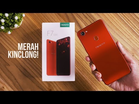Unboxing OPPO F7 Indonesia!