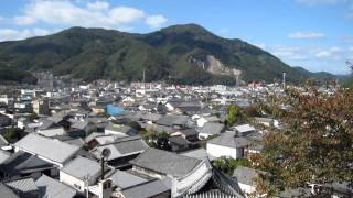 20111031_西方寺普明閣から竹原市を望む