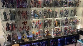Packing up Marvel Hot Toys for the sale
