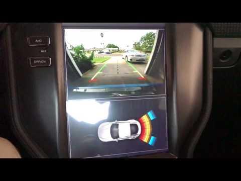 Backup Camera on Mustang Tesla Headunit