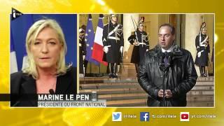 Charlie Hebdo: Marine Le Pen dénonce son