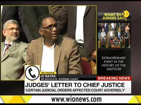 Breaking News: SC judges slam Chief Justice of India