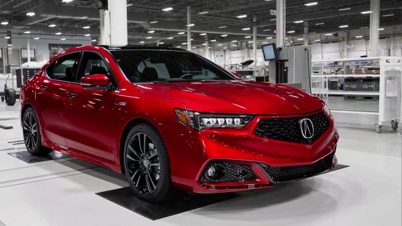 2020 Acura Tlx Pmc Edition New Cars Youtube