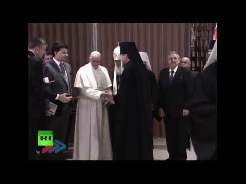 Патриарх Кирилл и Папа Римский делают заявления по итогам встречи