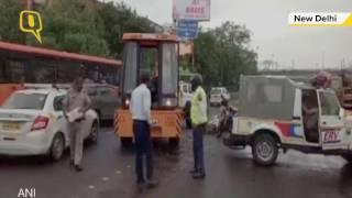 20,000 liters of petrol spills on road