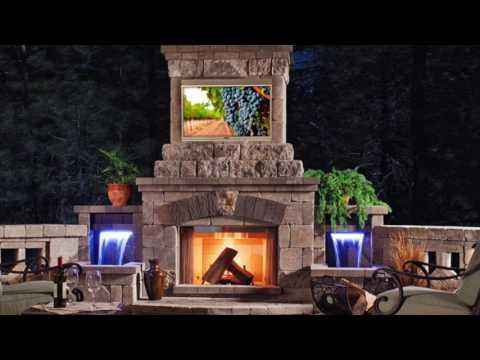 Outdoor TV & Entertainment Design Ideas - VizX Design Studios - (855) 781-0725