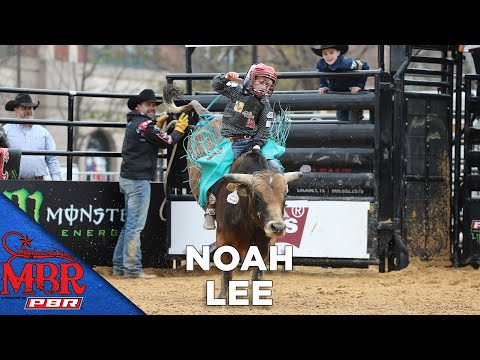 Mike Lee's Son, Noah Lee, Earns HIGHEST SCORE Of Mini Bull Riding Event | 2019