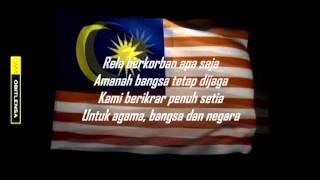Setia-Lagu Patriotik Malaysia instrumental with lyrics
