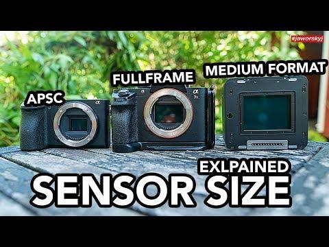 Format photography full frame camera vs medium