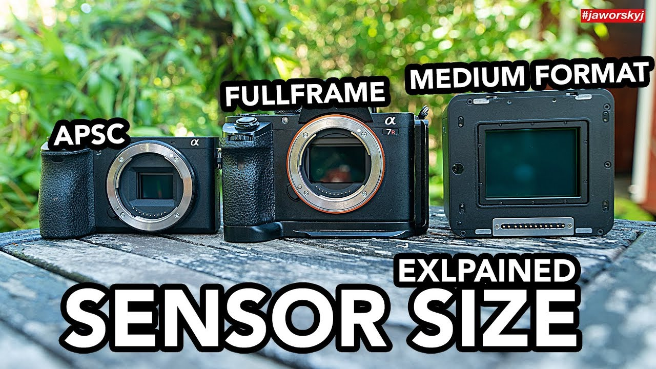 Camera Sensor Sizes Explained What You Need To Know