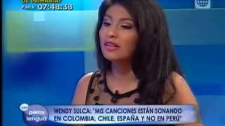 Wendy Sulca en 39 Sin Peros En La Lengua