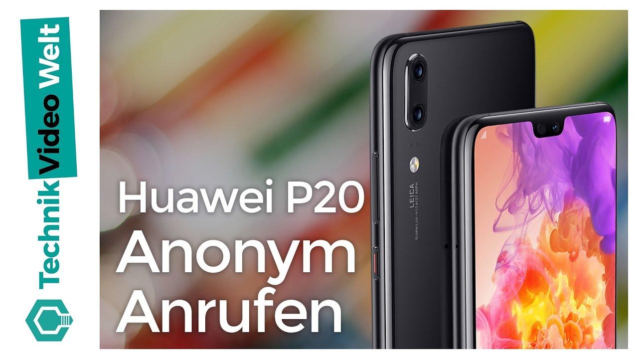huawei p20 lite nummer unterdrücken