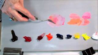 Download Mp3 Colour Theory & Mixing -  Pink And Peach