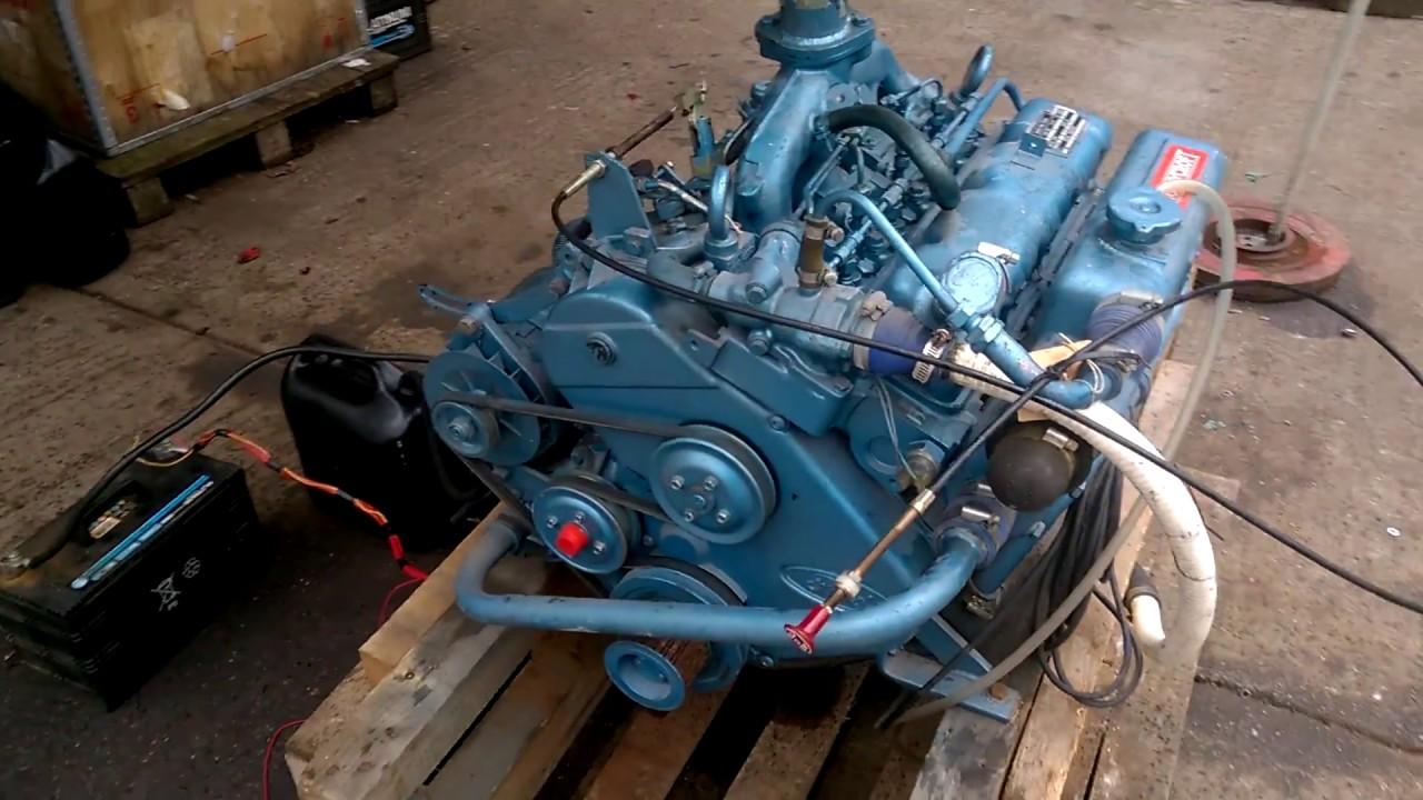 Thornycroft T-152 55hp Marine Engine - New Old Stock
