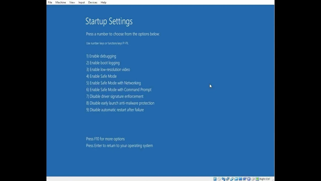how to stop safe mode windows 10