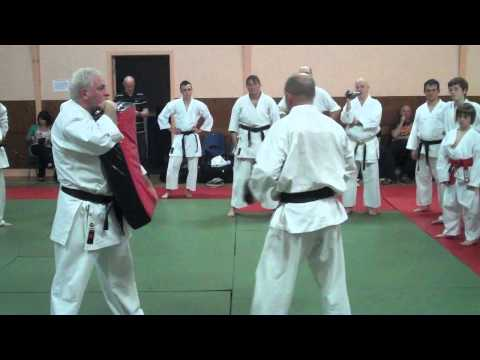 Ross Frame, TEI Karate Course, Methil in Fife