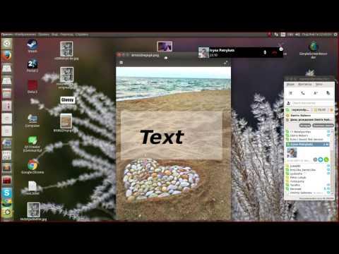 Создание картинки с текстом на полупрозрачном прямоугольнике с фоновой картинкой в GIMP