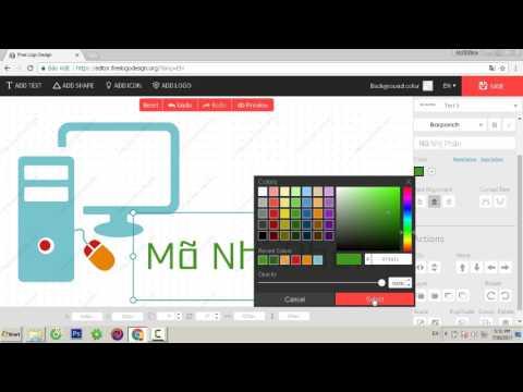 Cách tạo logo cực đẹp, nhanh chóng, dễ dàng, không cần phần mềm