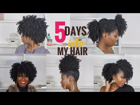FROM DEFINITION TO KINKS A WEEK INTO MY TYPE 4 HAIR + LOW MANIPULATION NIGHT ROUTINE