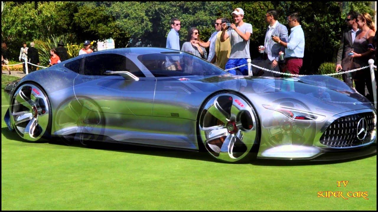Mercedes Benz Amg Vision Gran Turismo Mercedes Amg Gt Youtube