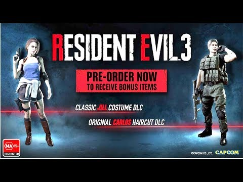 Upcoming Resident Evil Iii Lenticular Edition Youtube