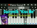 Cadbury Dairy Milk Ad Piano Lessons tutorial | Kiss Me Close Your Eyes | Mobile Perfect Piano Notes video