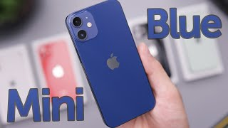 Blue iPhone 12 Mini Unboxing & First Impressions!
