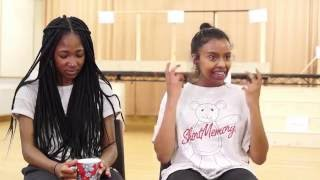 Cuttin' It | Interview with cast, Adelayo Adedayo & Tsion Habte