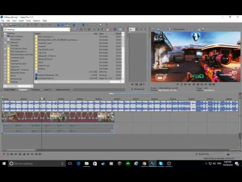 Sony Vegas editng xddd