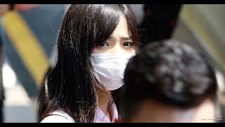 3일 서울 강서구 김포국제공항으로 입국하는 AKB48 시타오 미우(下尾みう)