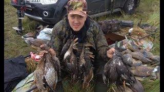 СОТНИ уток ливень бездорожье Выстрел на 50 метров HUNDREDS of ducks off road 50 meters shot
