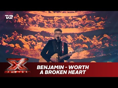 Benjamin synger 'Worth a broken heart' - Egen sang (Live) | X Factor 2019 | TV 2