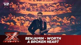 Benjamin synger 'Worth a broken heart' - Egen sang (Live)   X Factor 2019   TV 2