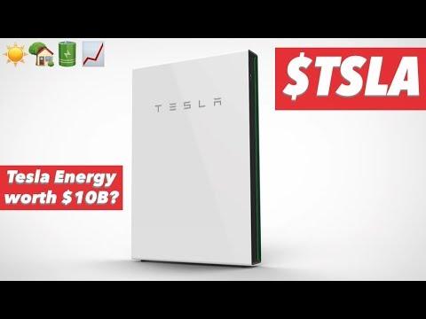 Tesla Energy Is Worth $10B & Growing 🔋 ☀️ 🏡 📈