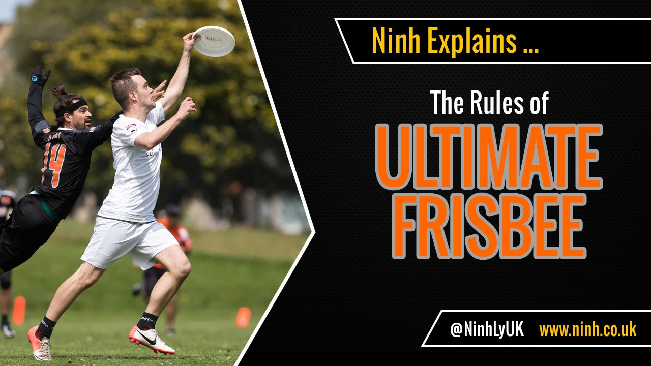 The Rules of Ultimate Frisbee (Ultimate) - EXPLAINED! - YouTube