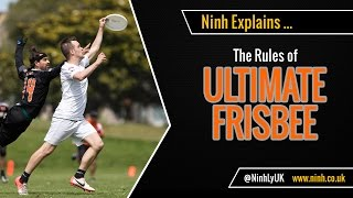 The Rules of Ultimate Frisbee (Ultimate) - EXPLAINED!