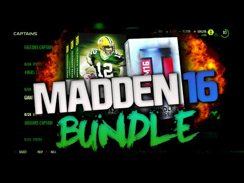 ALL-PRO BUNDLE! LIMITED EDITION GENO ATKINS! | MADDEN 16 ULTIMATE TEAM