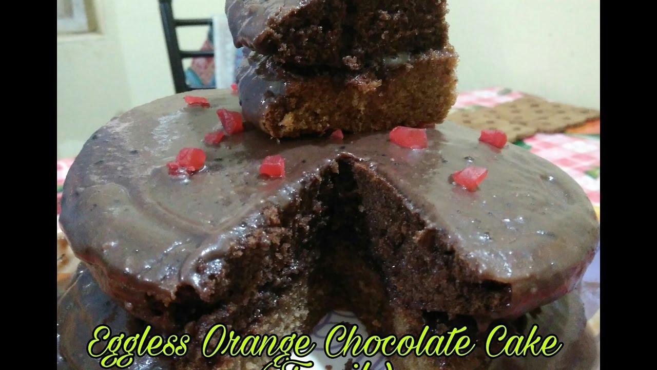 Eggless Chocolate Cake Tamil Youtube