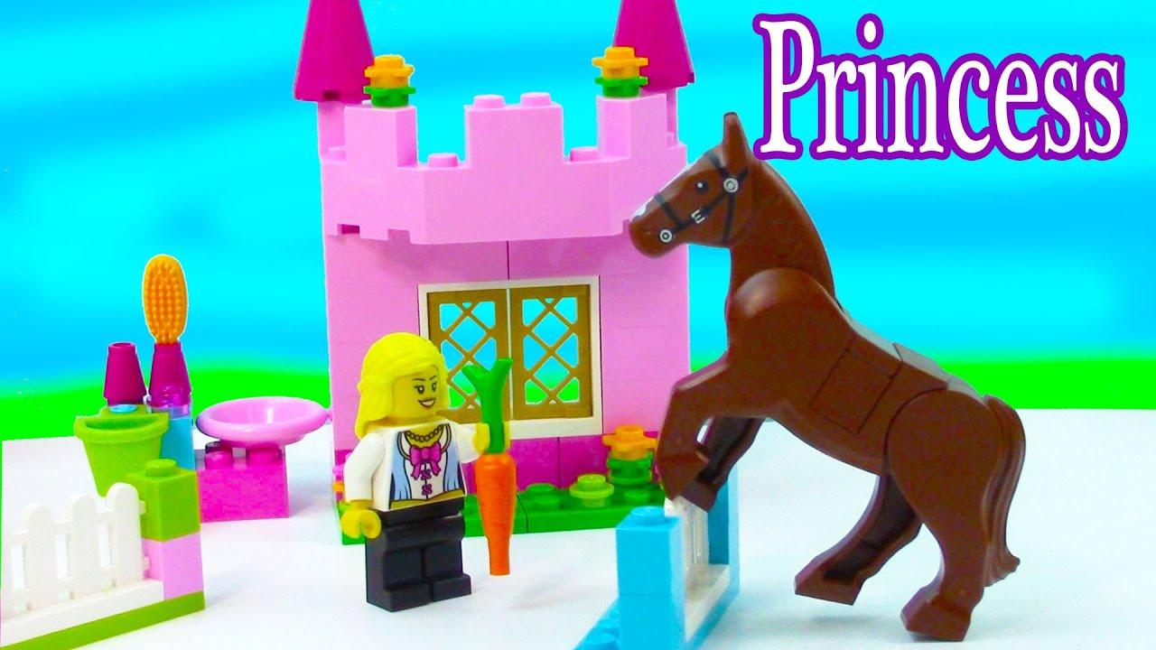 lego princess castle instructions