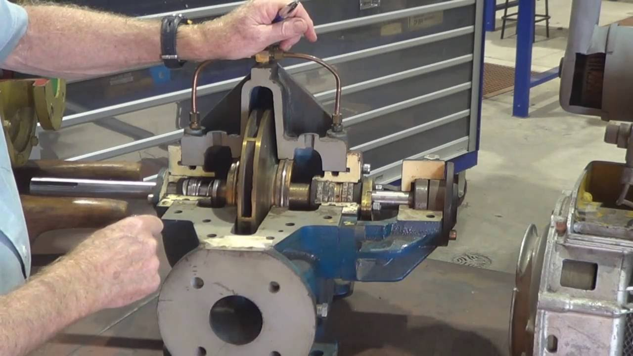 Centrifugal Pump Gland Packing With a Lantern Ring