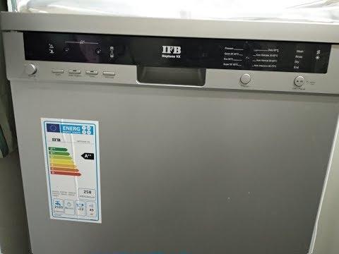 How to use dishwasher in Telugu - IFB dishwasher full demo