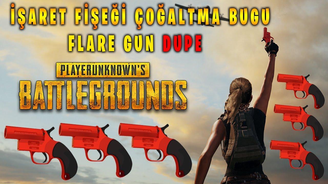 İŞARET FİŞEĞİ ÇOĞALTMA BUGU (Hile) Flare Gun Dupe Hack PUBG Mobile TÜRKÇE