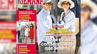 Casillas se sincera sobre su relación con Sara Carbonero
